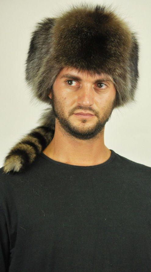 Cappello in marmotta, stile russo con coda. http://www.amifur.com