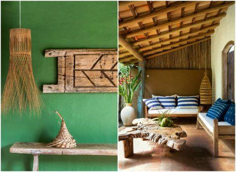 O designer holandês Wilbert Dias quis oferecer uma experiência com a natureza para seus hóspedes nesta casa que traz elementos de uma cabana de pescador