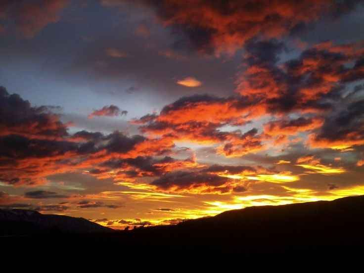 Monday, monday from #TorresdelPaine #Patagonia #Chile Gorgeous sunset