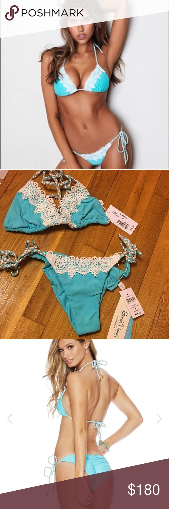 Beach Bunny Flamenca Beach Bunny Flamenca. NWT. Both S. As seen Beach Bunny Swim Bikinis