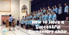 Floating Down the River: How to Have a Successful Elementary Choir. TONS of awesome tips for elementary choir! Management, logistics, choosing literature and more... wow!