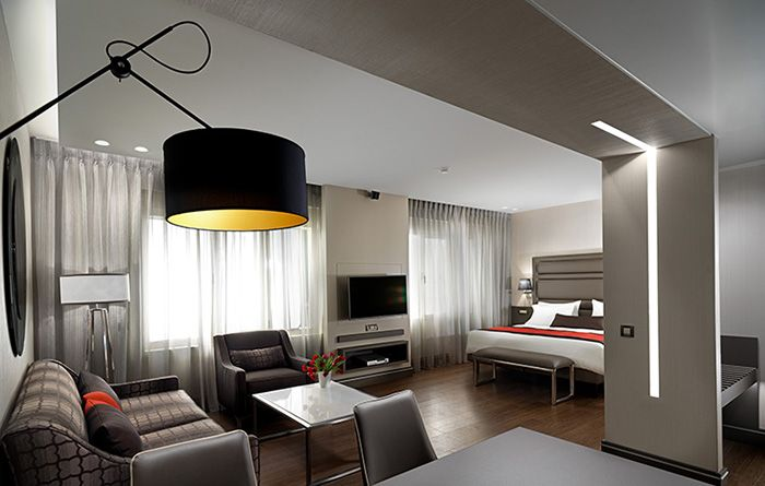 Hotel Suite, Holiday Suites, Athens, 2017 by Harry Papaioannou & Associates