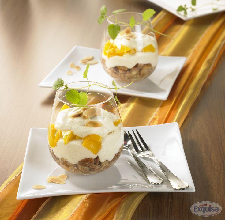 Cantuccini-Pfirsich-Tiramisu