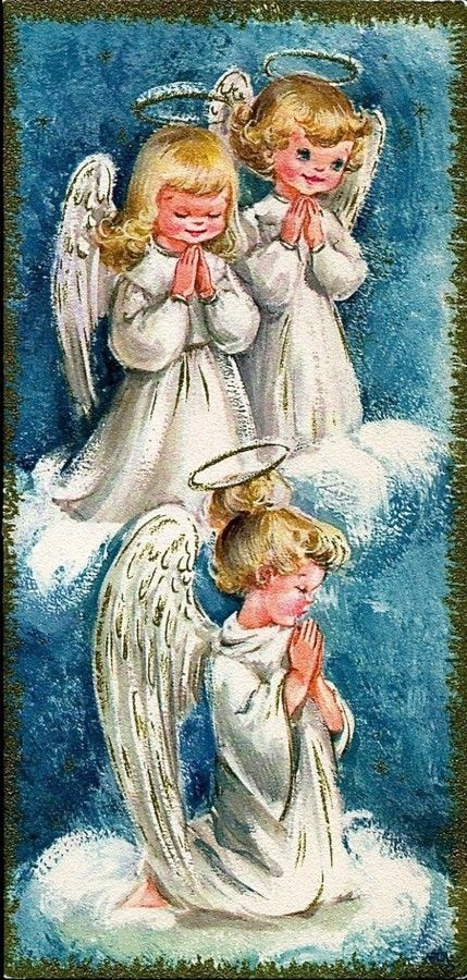 Old Christmas Post Cards —  (425x900):