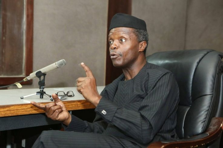 Anti-corruption war: Osinbajo speaks on Transparency International report