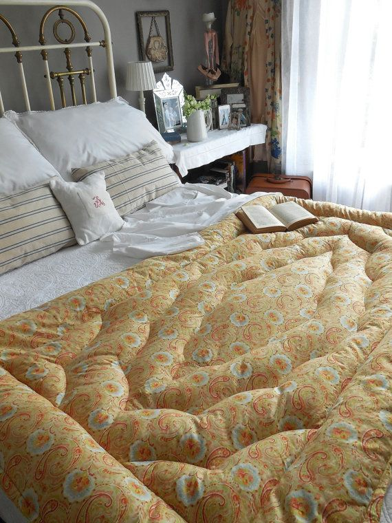 450 best EiDerDownS & OLd QuiLTS images on Pinterest   Linens ... : vintage bed quilts - Adamdwight.com