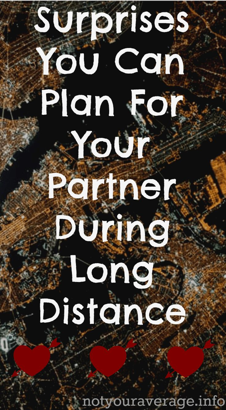 Surprises you can plan for your partner during long distance
