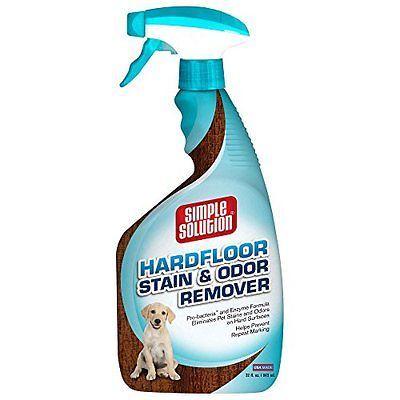 Hardwood Floor Stain Odor Remover Pet Dog Cat Urine Smell Hard Wood