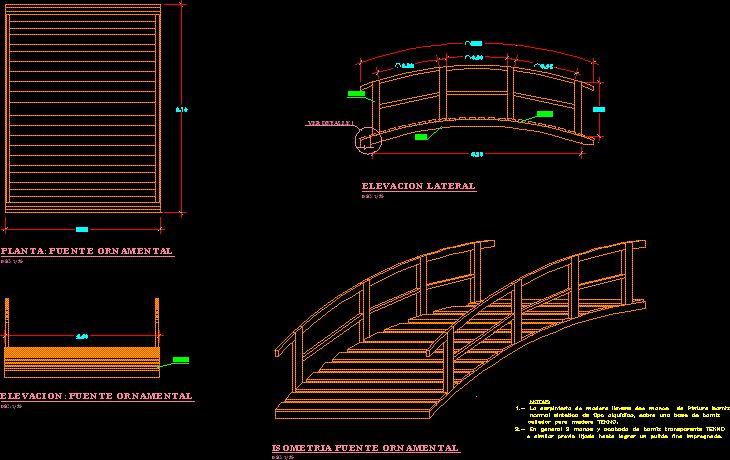 tipos de puentes peatonales en madera - Buscar con Google