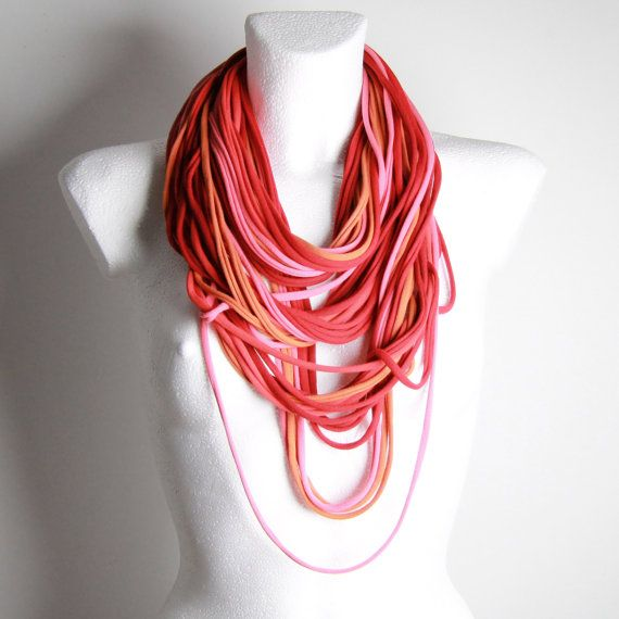 Love these colors, love soft scarves...