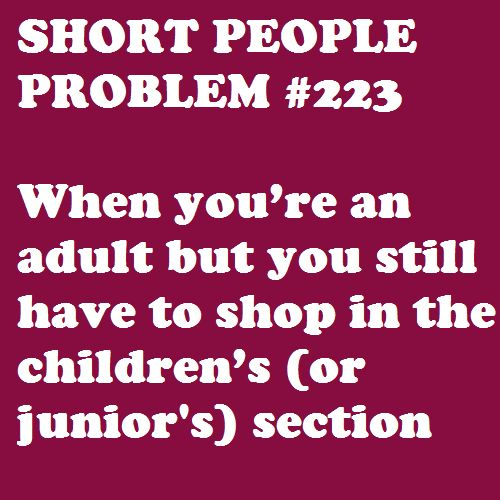 Short People Problems funny
