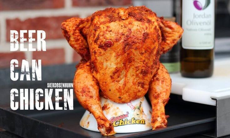 Beer Can Chicken oder Bierdosenhuhn ist genauso einfach wie lecker. Ein echter  BBQ Klassiker!