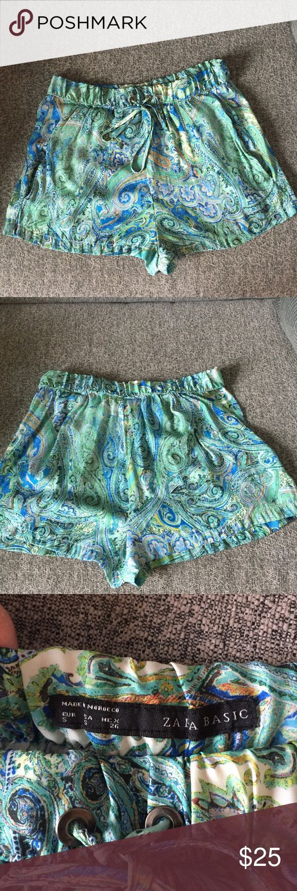 Zara basic shorts Sz S Pre owned Zara Shorts