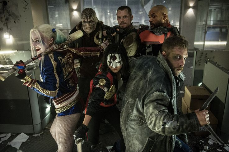 The L.A. Times as part of its summer movie preview released a brand new  photo from David Ayer's SUICIDE SQUAD, which features Will Smith's Deadshot  and Margot Robbie's Harley Quinn. Check out the photo below.  The film also co-stars Jay Hernandez, Jared Leto, Adewale  Akinnuoye-Agbaje, Viola Davis, Adam Beach, Common , Ike Barinholtz, Joel  Kinnaman, Jai Courtney, Scott Eastwood, Cara Delevingne, Raymond Olubowale.  SUICIDE SQUAD follows a secret government agency run by Amanda Waller…