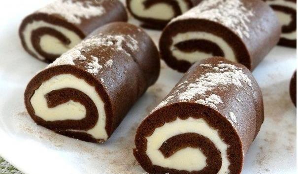 Čokoládové  roládky