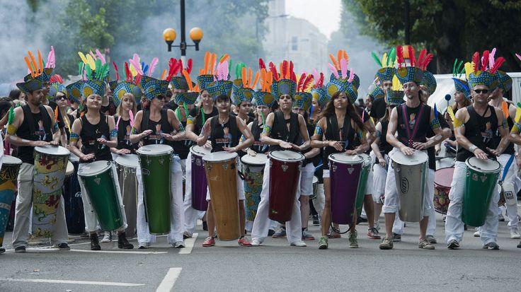 Arrancó el carnaval de Notting Hill
