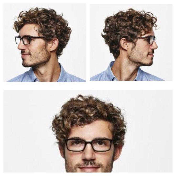 Men's curly hair, men's wavy hair
