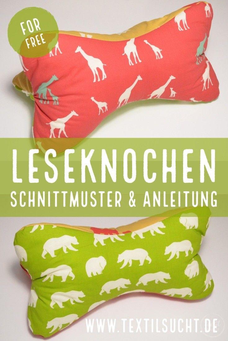 Tutorial & kostenloses Schnittmuster: Nackenkissen nähen – Textilsucht® – Schnittmuster & Reisen