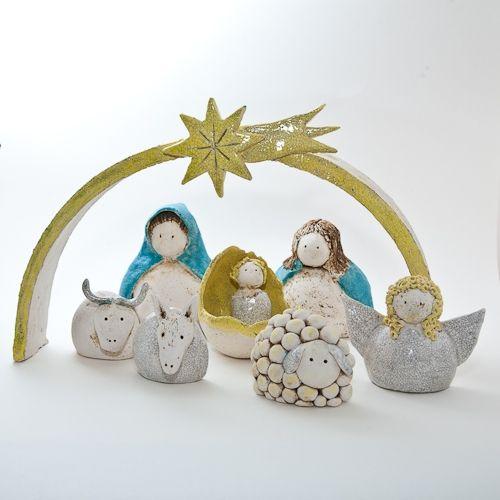 Keramik Krippe von isi-way.com