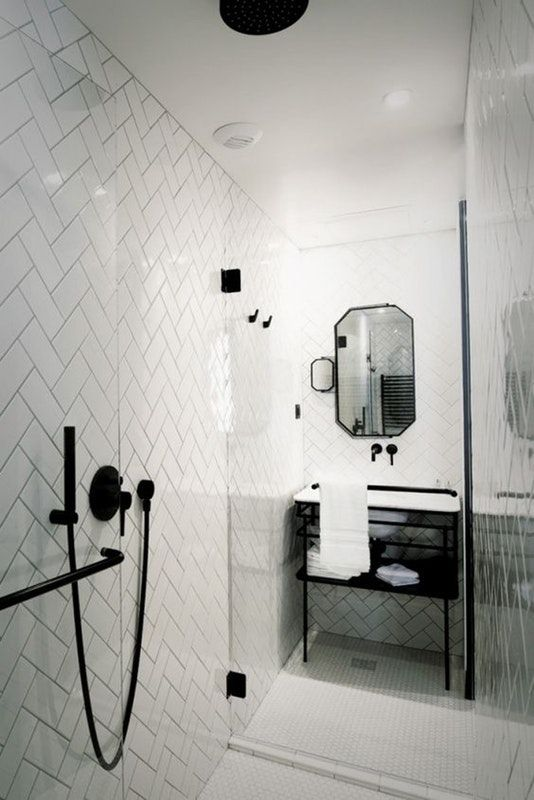 Badass Ways To Use Subway Tile In The Bathroom łazienka