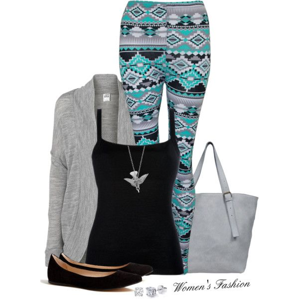 Pattern leggings outfits