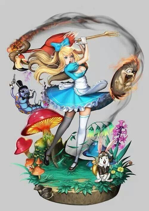 the allegory in alice in wonderland Alice in wonderland fans have marked 150 years since the fateful boat trip that sparked the tale but why do so many see adult themes in it.