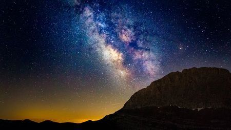 Milky Way at the summit of Mount Olympus Photo by Lev Paraskevopoulos — National Geographic Your Shot
