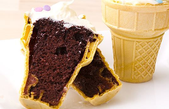 Microwavable Ice Cream Cone Cupcakes | Canadian Freebies, Coupons, Deals, Bargains, Flyers, Contests Canada