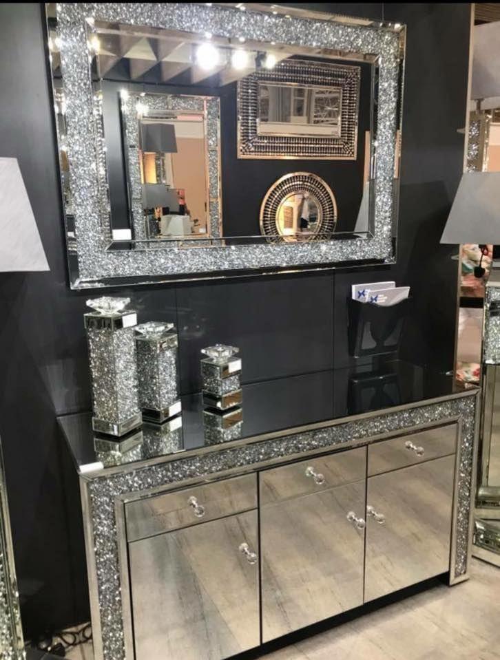 Glitter Furniture Mirrored, Home Sparkle Furniture