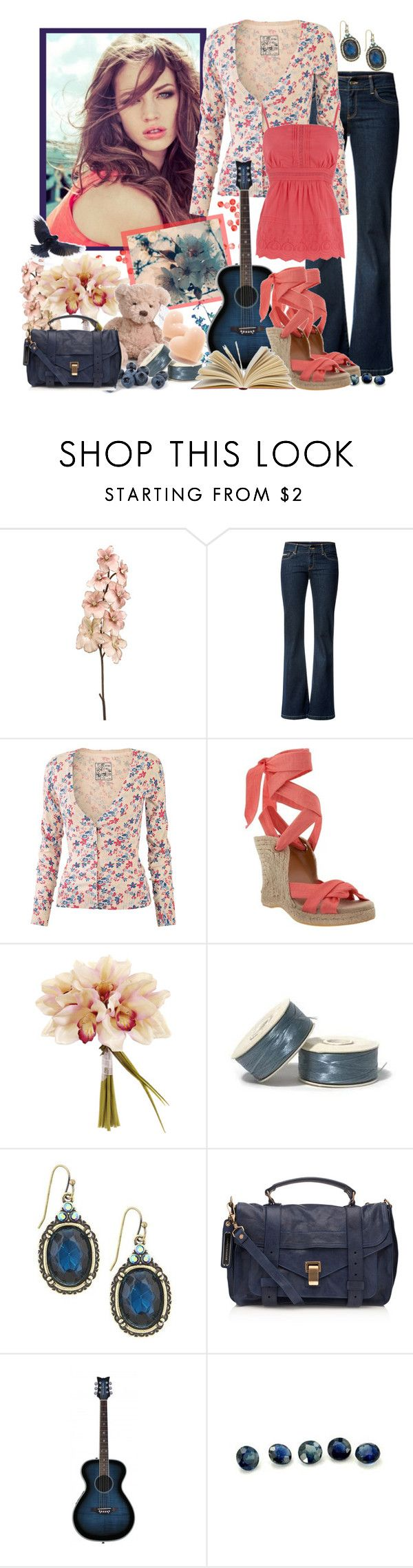"""Freebird"" by musicisair ❤ liked on Polyvore featuring MANGO, Fat Face, Old Navy, 1928, Proenza Schouler, Pixie, Raven Denim, Oasis, top handle bags and wedge shoes"