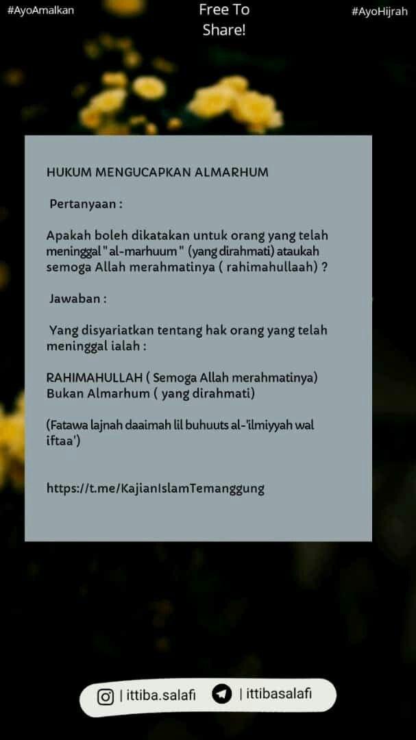 Pin Oleh Ayu Ratna Di Islam Quotes Kutipan Bijak Kutipan