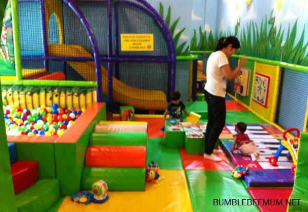 Free singapore indoor playgrounds for babies under 1 - amazonia