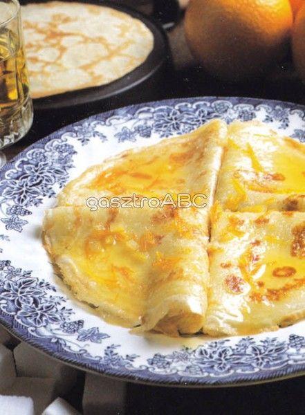Crepes Suzette | Receptek | gasztroABC