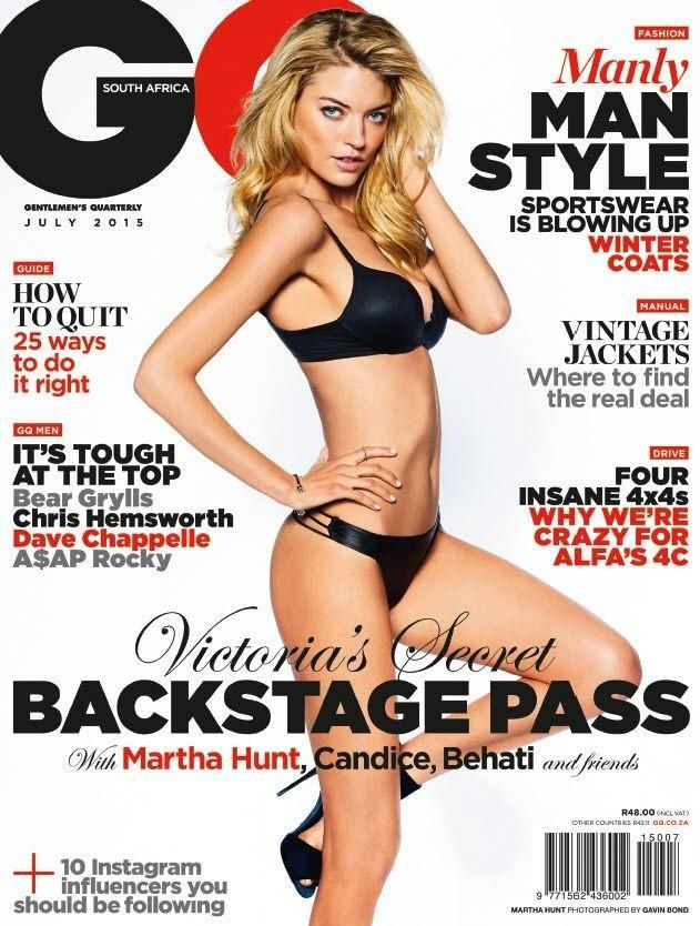 GQ South Africa July 2015 Cover (GQ South Africa)