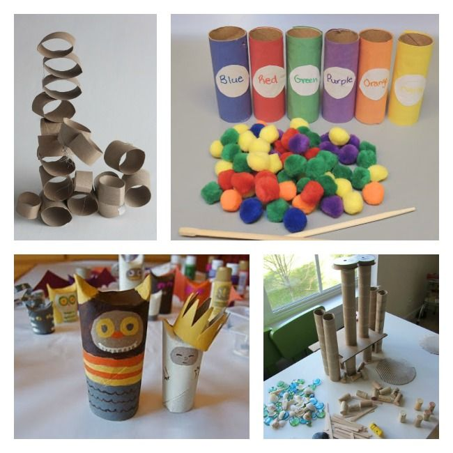 12 Toilet Paper Roll Crafts for Kids - Recycle Toilet Paper Tubes!