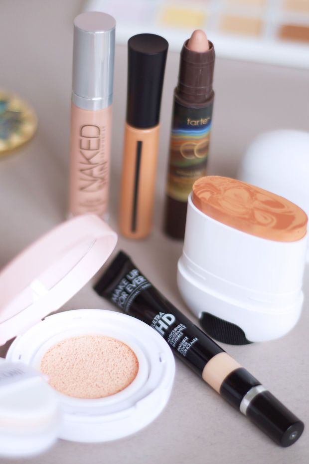 Colour-correct dark circles with products from Urban Decay, Giorgio Armani, Tarte, Marc Jacobs, Make Up For Ever and Lancôme. http://beautyeditor.ca/2016/04/01/how-to-apply-colour-correction-makeup