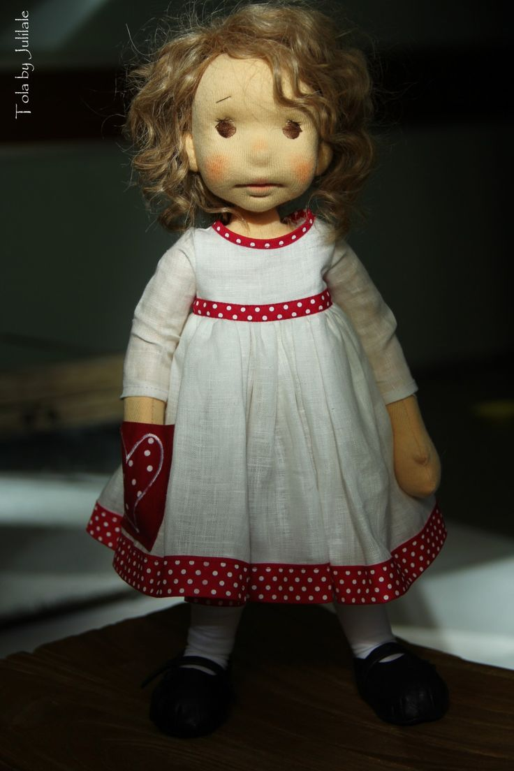 Tola - waldorf inspired doll by julilale