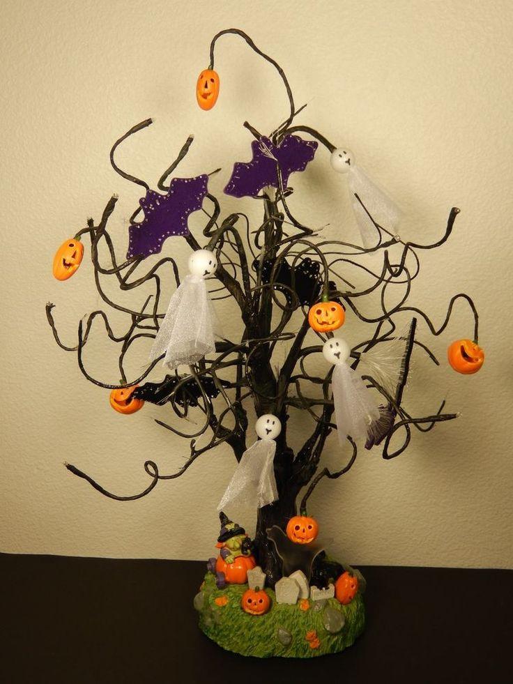Avon Fiber Optic Halloween Tree 32 97 3445 Halloween