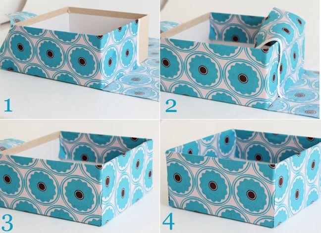 Diy Fabric Storage Boxes Organization Fabric Storage Boxes Diy
