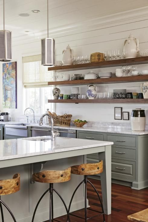 Lynne and Steve Hamontree settled on Sullivan's Island and, with help from area designer Cortney Bishop, revamped a spec home to reflect their particular brand of West-meets-East Coast cool