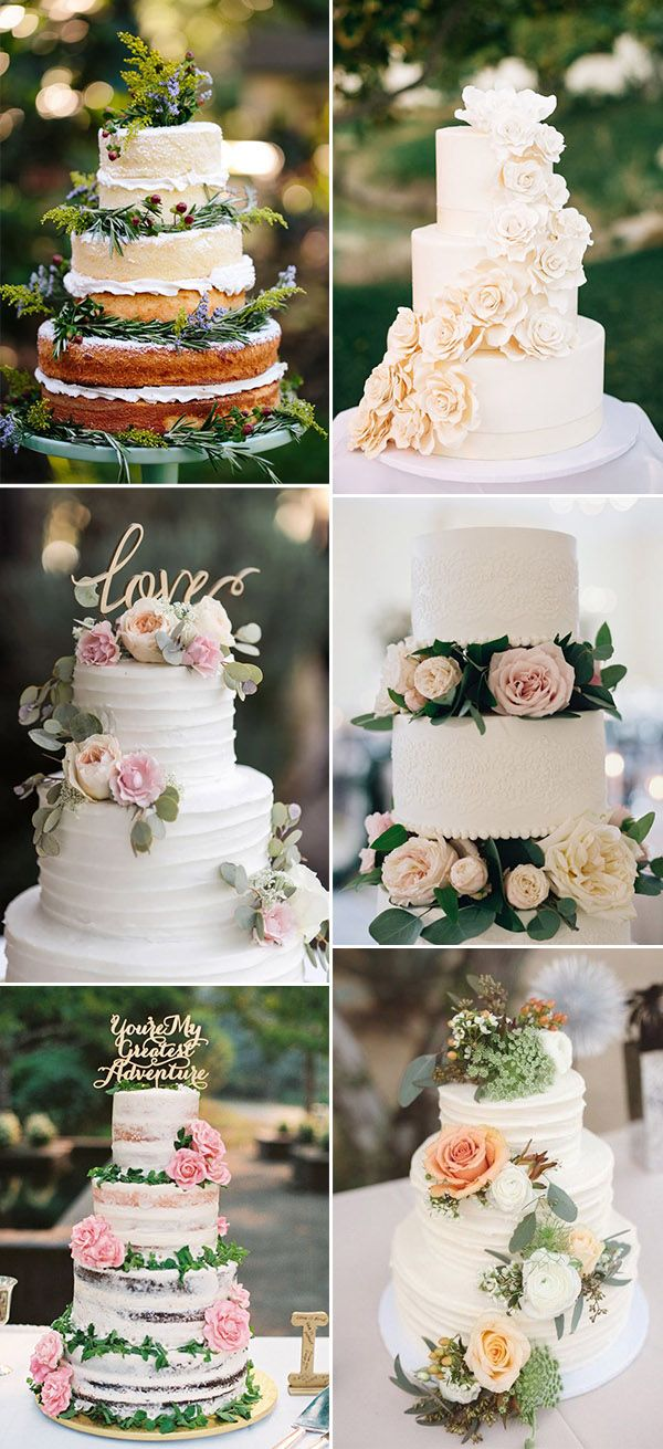 stunning spring and summer wedding cakes