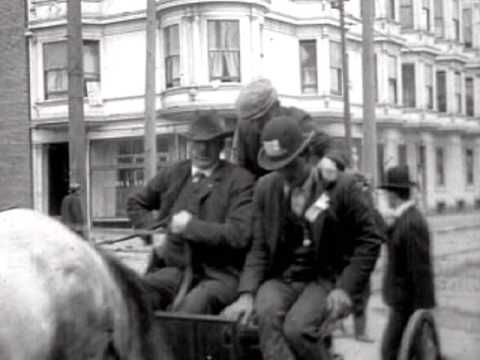 San Francisco Earthquake Damage 1906 - YouTube