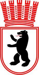 1934 Wappen der Stadt Berlin gueltig fuer West-Berlin bis 1954,danach auch weiterhin fuer Ost-Berlin