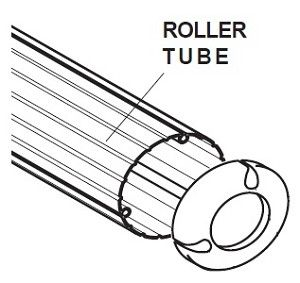 Dometic 3108346 Patio Awning Replacement Roller Tube Assembly Camper Trailer RV