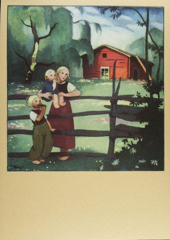 Martta Wendelin, 1959 | par caijsa's postcards