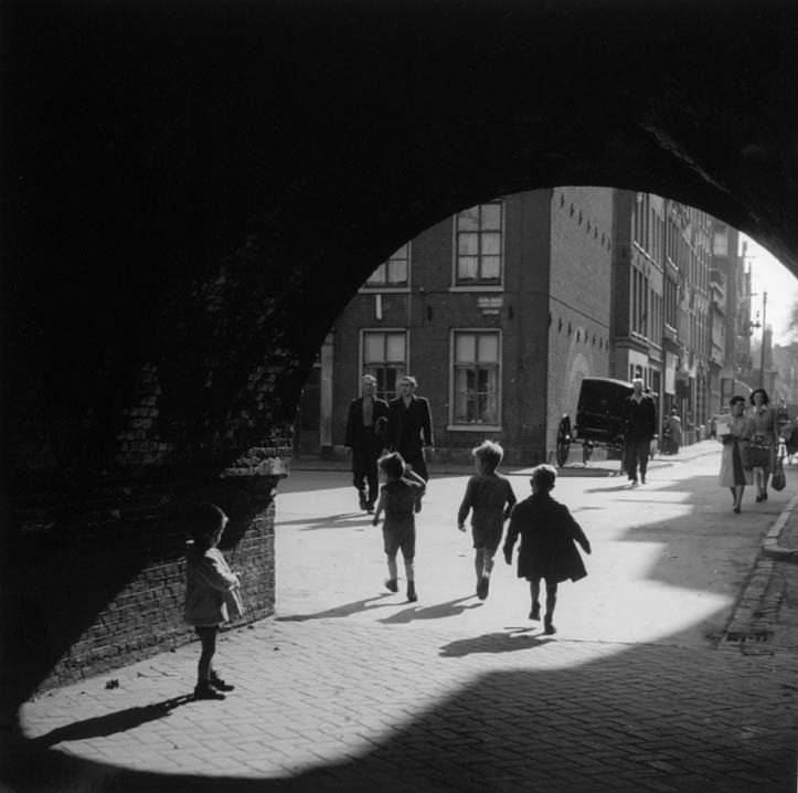 """ Amsterdam "" about 1949-1954. photo: Kees Scherer"