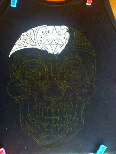 New hand painted t-shirt coming... :)