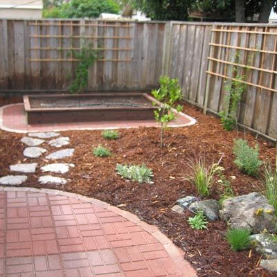 Low Maintenance Front Yard Landscaping | Newly landscaped low maintenance backyard.