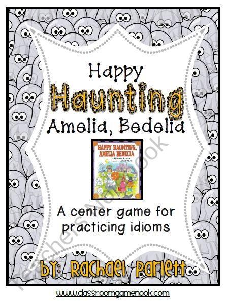 Happy Haunting Amelia Bedelia Idioms Game