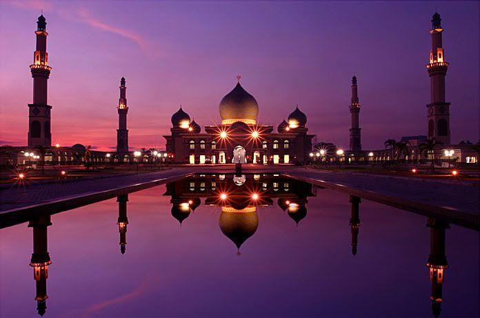 Masjid An - Nur Pekanbaru, Riau - Indonesia